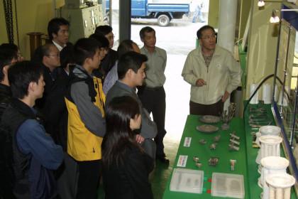 홍콩 HKPC - 韓國先進製造技術考察團 방문
