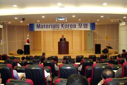 Materials Korea Forum
