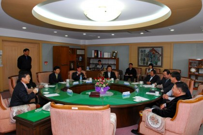 KIMM-입주업체 간담회 및 협력 협약체결