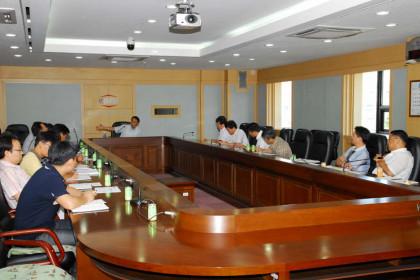과학기술부 김차동 과학기술협력국장 내방