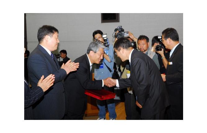 김병기 선임연구부장 제5회 경남도 과학기술대상(연구부문) 수상