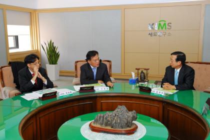 산자부 산업기술개발팀 이재홍 팀장 내방 및 세미나 개최