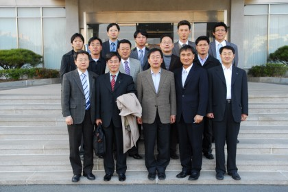 산업기술연구회 소관기관 예산부서장 내방