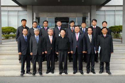 전라북도 김완주 지사 및 대표단 일행 내방