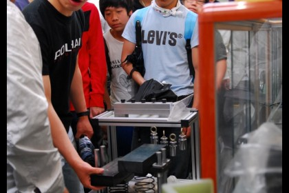 삼천포공업고등학교 전산응용기기계과 3학년 학생 연구소 현장체험학습