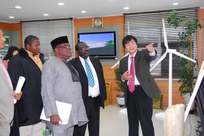 나이지리아 과학기술부 장관 내방