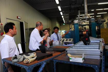 중국 하북공업대학 기술조사단 재료연구소 방문