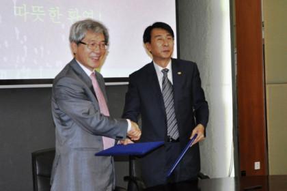 유색금속연구총원(중국 베이징) 방문, MOU를 체결