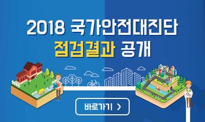 2018년 국가안전대진단 점검결과 공개