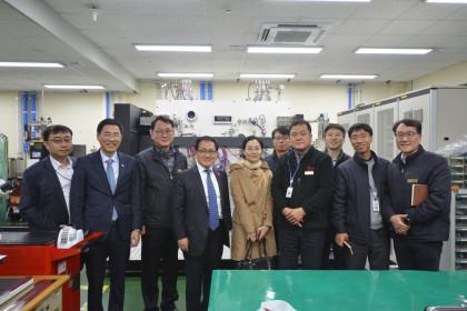 유영민 과학기술정보통신부장관 내방 2018-12-13