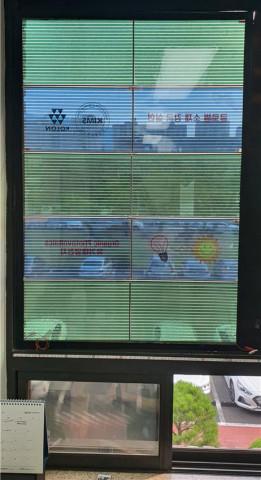 사진파일_개발된 스마트 창호가 한국재료연구원 창문에 설치된 모습